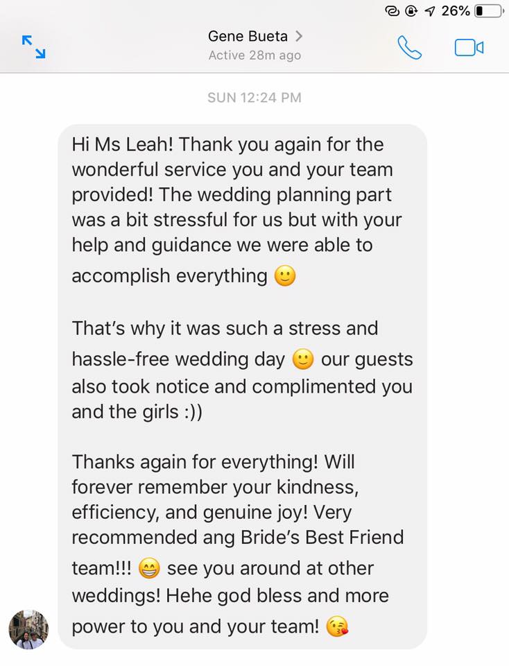 From our October 7, 2018 client.