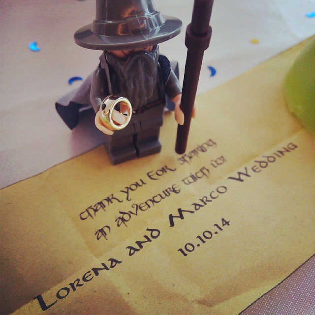 Gandalf and the one ring. Photo by Armie Garde.