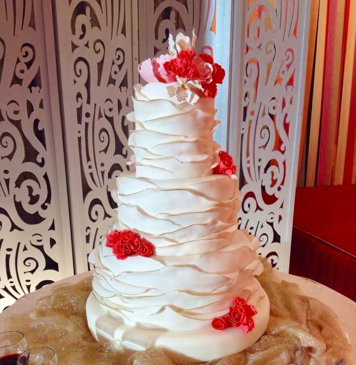 Wedding Cake by LMG Pastry